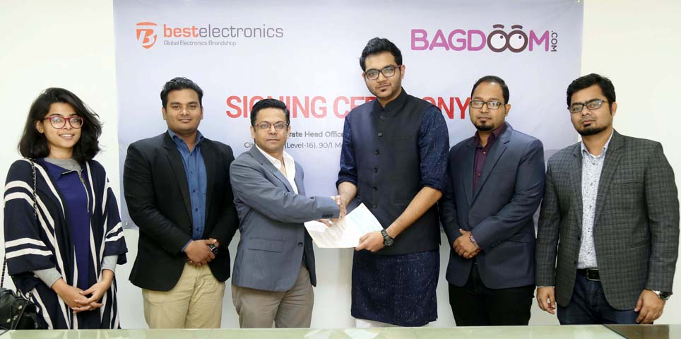 Best electronics and Bagdoom partership