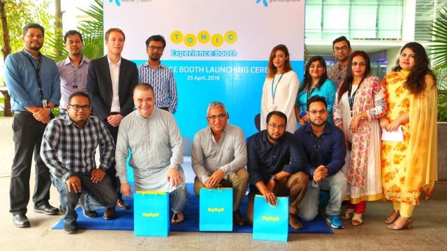 GP Launches Tonic Booth