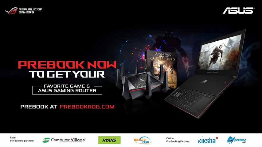 ROG Prebook with partners