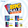 Tecno BIG SALE 2020