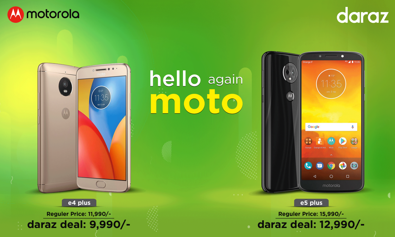 moto Daraz Deal offer